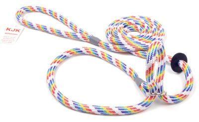 Braided rope halter slip lead (8mm x 2m)