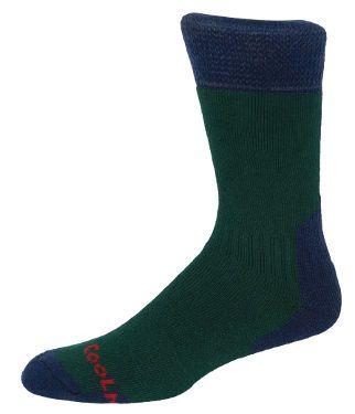 Adventure Coolmax Sock (Green Navy) (H009)