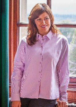 Bonnie Ladies Striped Shirt