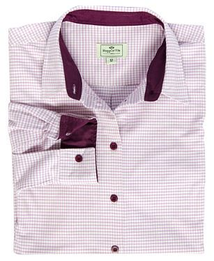 Brodie Ladies Country Check Shirt