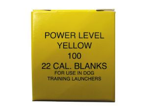 Blanks For Launchers .22  Yellow