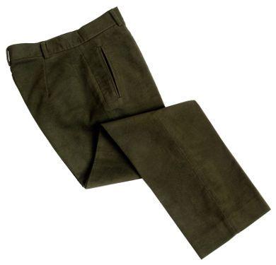 Ladies Moleskin Trousers (Dark Olive)
