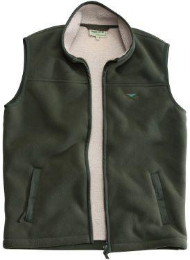 Mustang Heavy Fleece Waistcoat (Khaki)