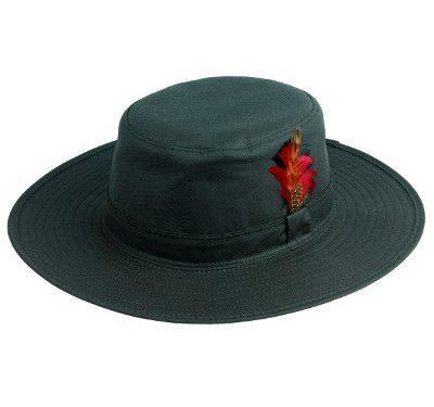 Waxed Aussie-Style Hat