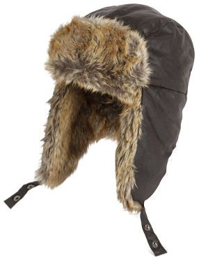 c390214e083 Waxed Cotton Trapper Hat (Brown) - C and K Sporting Products
