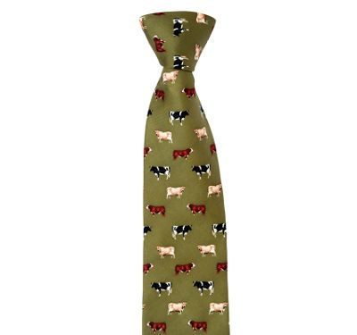 Country Tie (Cows)