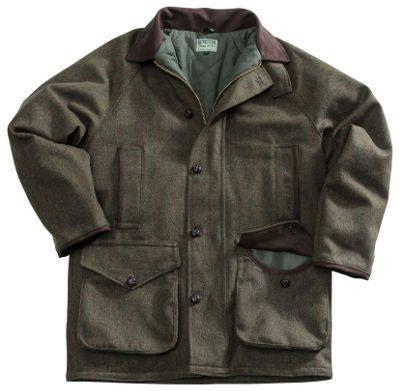 Harewood Lambswool Tweed Waterproof Coat