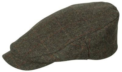 Harewood Lambswool Tweed Waterproof Cap