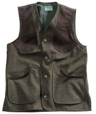 Harewood Lambswool Tweed Shooting Vest