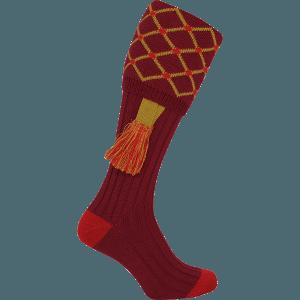 Jack Pyke Diamond Socks with Garters