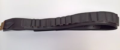 Leather Cartridge Belt Large Open Loop