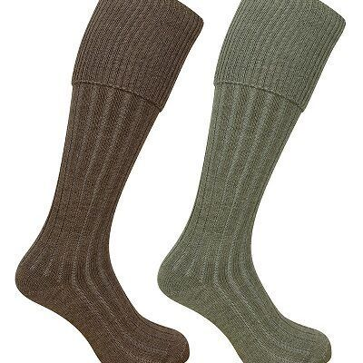 Plain Turnover Top Sock ( 1902)