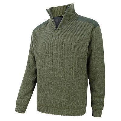 Hebrides Zip Neck Pullover