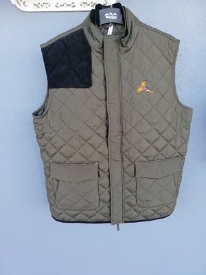 Mens Quilted Gilet K 6124