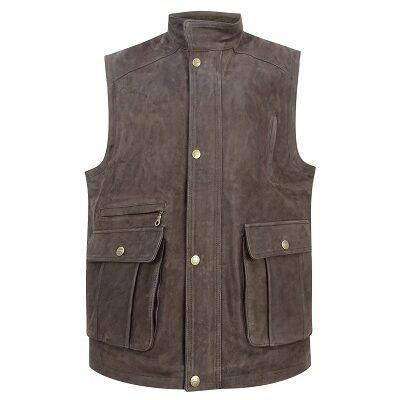 Lomond Leather Waistcoat