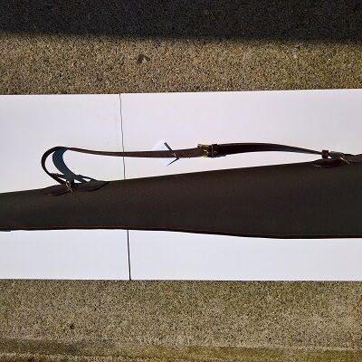 Canvas \ Leather Shotgun Slip ( Top Quality )