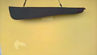 Canvas  Leather Shotgun Slip ( Medium Quality )